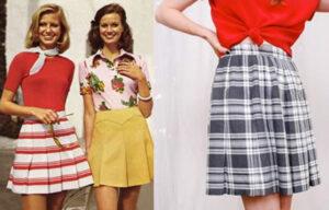 Moda feminina anos 70