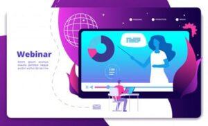 webinar - oferecer um conteúdo exclusivo