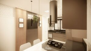 Dicas de como aproveitar o espaço em cozinha compacta